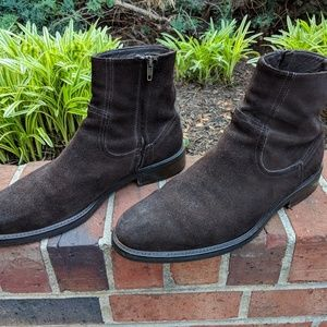 To Boot New York zip boots 11D